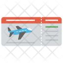 Air Ticket Flight Icon