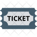 Air Ticket Plane Ticket Travelling Pass Icon