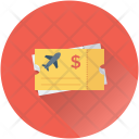 Air Ticket Plane Icon