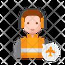Air Traffic Controller Icon