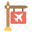 Air Traffic Signboard Icon