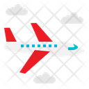 Air Travel Aircraft Airliner Icon
