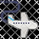 Travel Transportation Airplane Icon