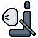 Airbag Car Security Icon