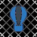 Airballoon Fly Parachute Icon