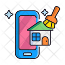 Airbnb Cleaning Icon