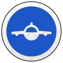Airbus Drive Sign Icon