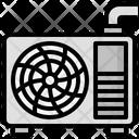 Airconditioner Electronics Refreshingmachine Icon