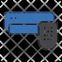 Airconditioner Remote Smart Icon