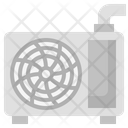 Airconditioner Refreshing Machine Air Icon