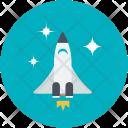 Aircraft Airship Missile Icon