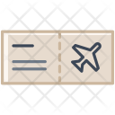 Aircraft Ticket Plane Icon