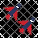 Aircraft Airplane Air Vehicle Icon