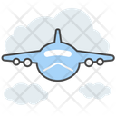 Aircraft Airplane Flight Icon