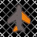 Aircraft Airplane Flight Icon