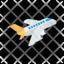 Aircraft Flight Airplane Icon