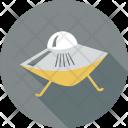 Aircraft Spacecraft Ufo Icon