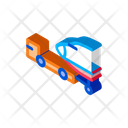 Transport Truck Tow Icon