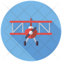 Aircraft Toy Airplane Biplane Icon