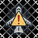 Aircraft Warning Icon