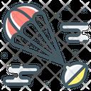 Airdrop Parachute Parachute Deploy Icon