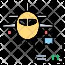 Airfreight Aeroplane Air Icon