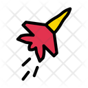 Airjet Fighter Plane Icon