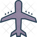 Airline Jet Airliner Icon