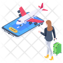 Airline Reservation Icon