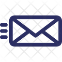 Airmail Dispatch Envelope Icon