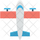 Airplane Aviation Fly Icon