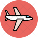 Airplane Airliner Airbus Icon