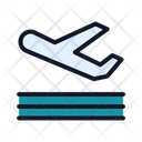Airplane Aircraft Take Off Icon