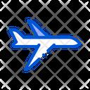 Public Transport Airplane Icon