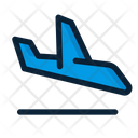Airplane Arrival Flight Icon