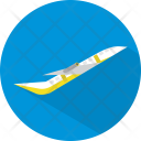 Airplane Transport Fly Icon