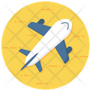 Airplane Aircraft Traveling Icon