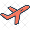 Airplane Aircraft Airliner Icon