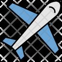 Summer Airplane Travel Icon