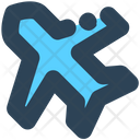 Sign Airplane Mood Icon