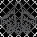Airplane Aeroplane Airbus Icon