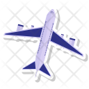 Airplane Flight Fly Icon