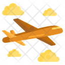 Airplane Fight Air Journey Icon