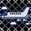 Airplane Flight Travel Icon