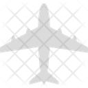 Aeroplane Airbus Airliner Icon