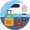 Airport Luggage Suitcase Icon