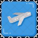 Airplane Plane Aeroplane Icon