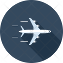 Airplane Flight Global Icon