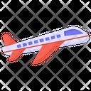 Plane Airplane Aeroplane Icon