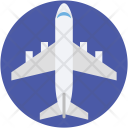Airplane Aviation Plane Icon